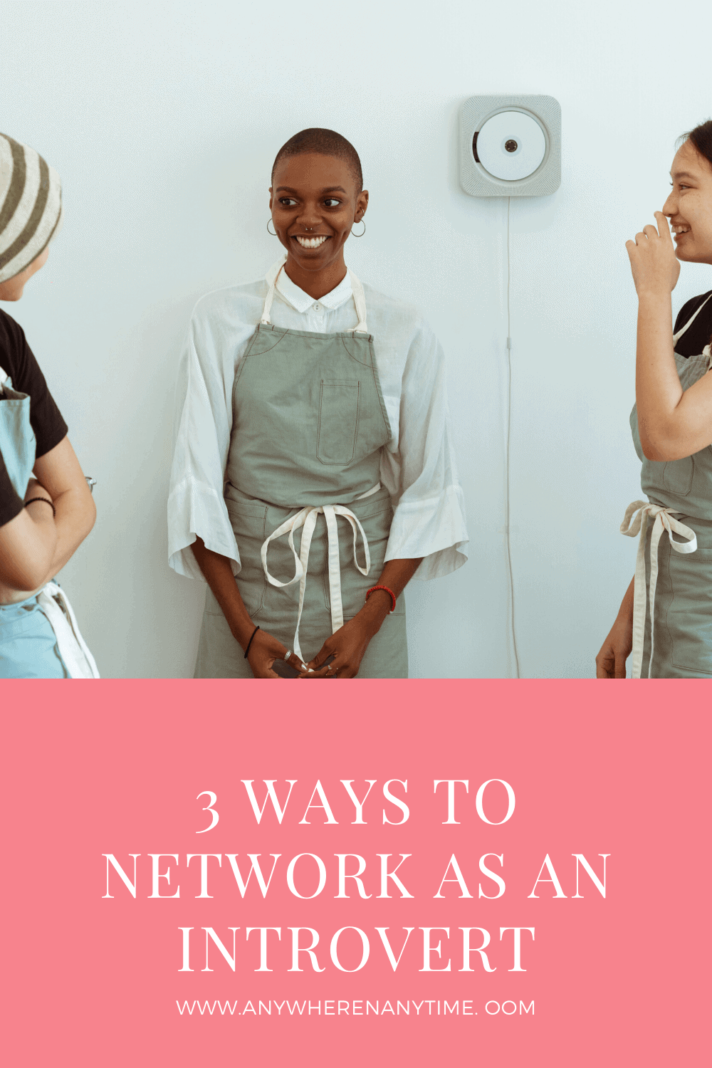 Introvert Networking in 3 Steps