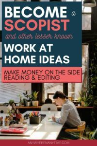 Scopist and other lesser known work from home online careers