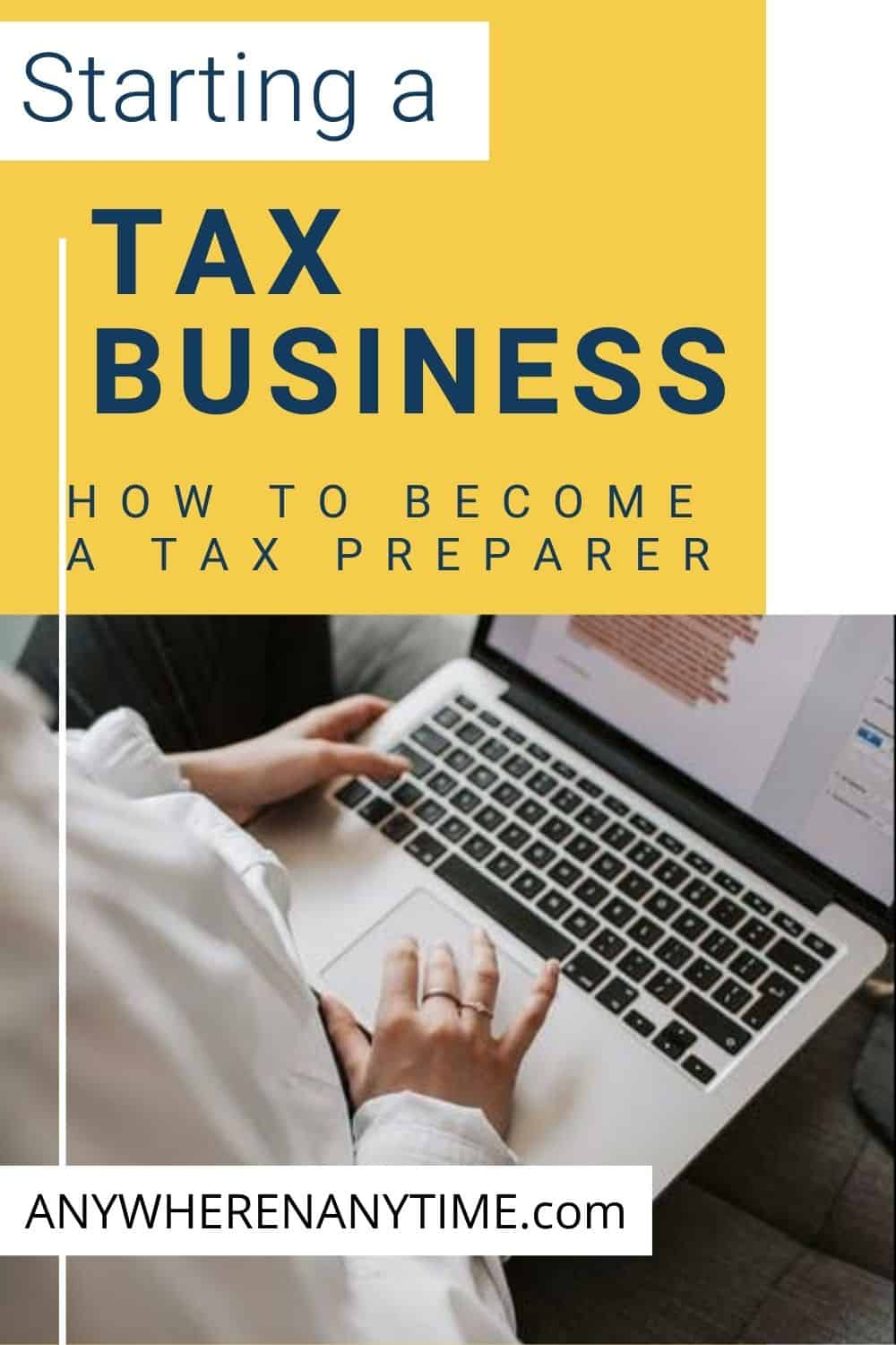 How to Become a Tax Preparer Online with TaxBiz!