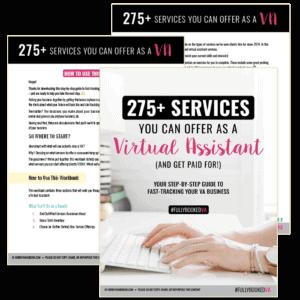 fully booked VA checklist fasttrack your VA business kit