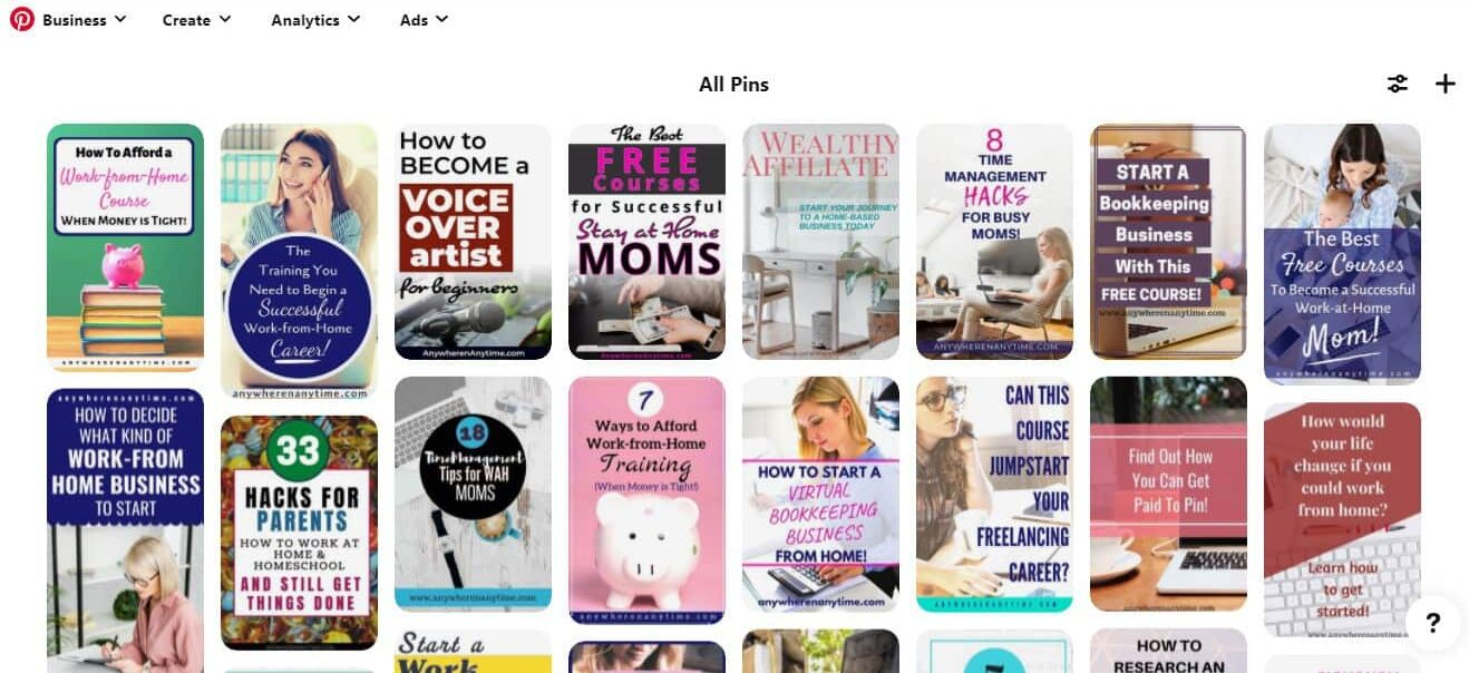 Become a Pinterest VA today and help entrepreneurs spread their offerings