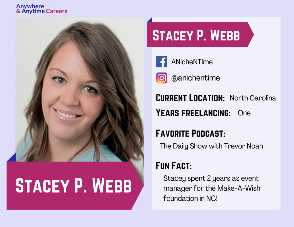 Stacey P. Webb used the COVID pandemic to become a podcast producer through Podcast Production School.