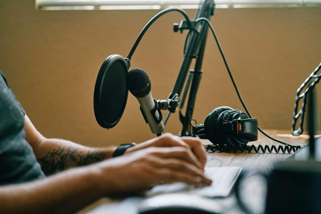 When you become a podcast producer, you create polished podcasts from raw material.