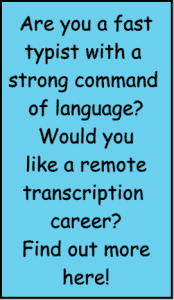 find out about TA general transcription course
