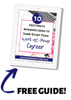 10 LEGITIMATE BUSINESS IDEAS TO JUMP-SART YOUR WORK-AT-HOME CAREER